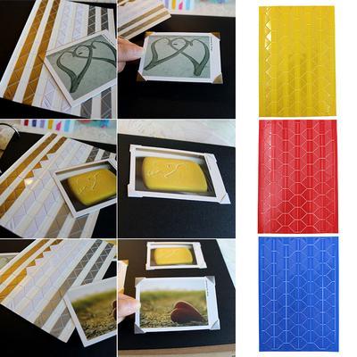 408x Self-adhesive Photo Corner Stickers scrapbook album essential  FO