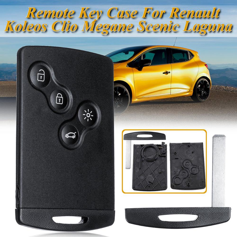 1 Button Uncut Blade Car Key Shell Case for Renault Megane Scenic Laguna