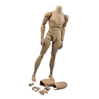 1:6 Action Figures Military Rude Body Narrow Shoulder /& Black Shoes for TTM19