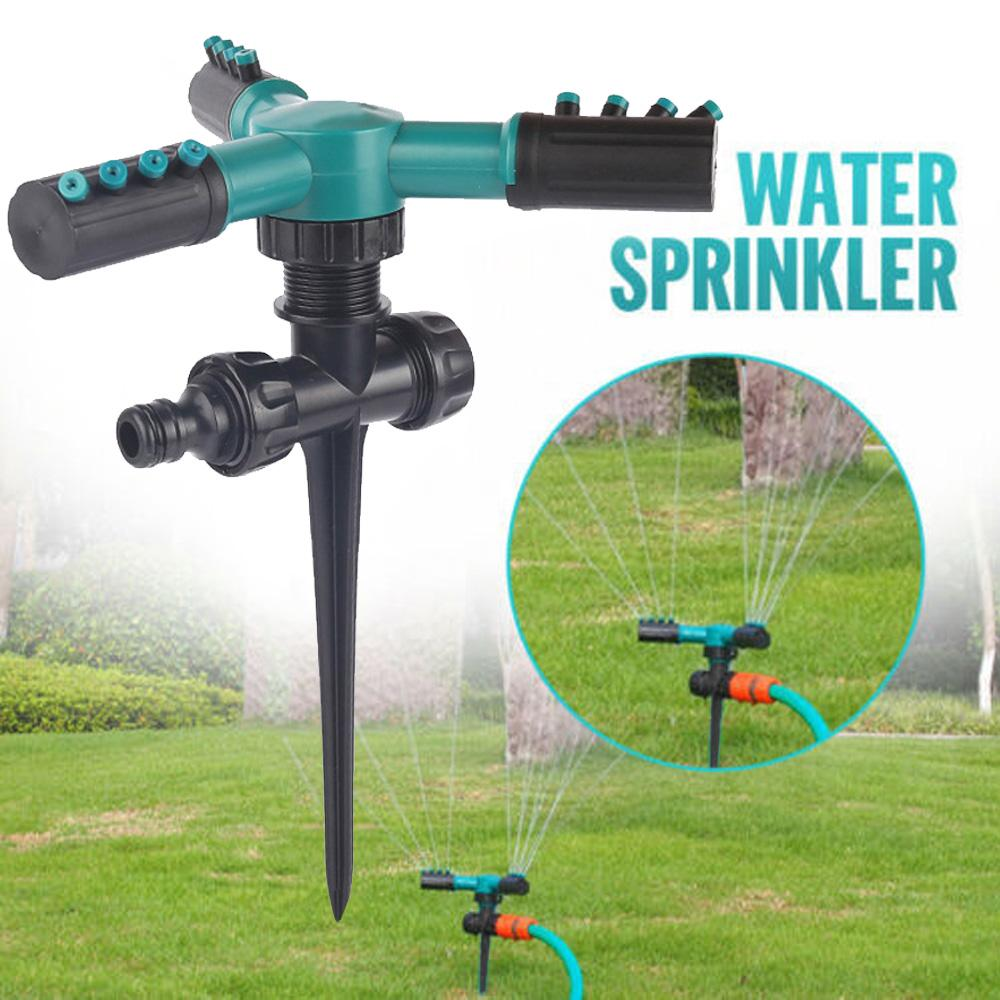 360° Rotating Lawn Sprinkler Automatic Garden Water Sprinklers Lawn Irrigation