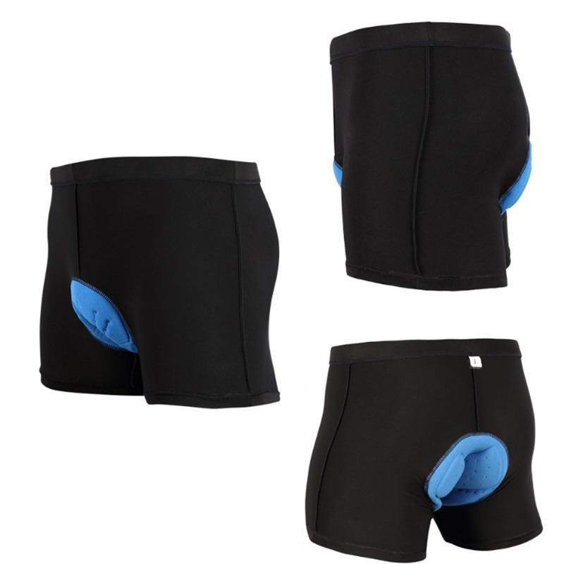 Pad Bicycle Shorts for Men Riding Bike Short Knickers with 4D Slicone Pad M-3XL