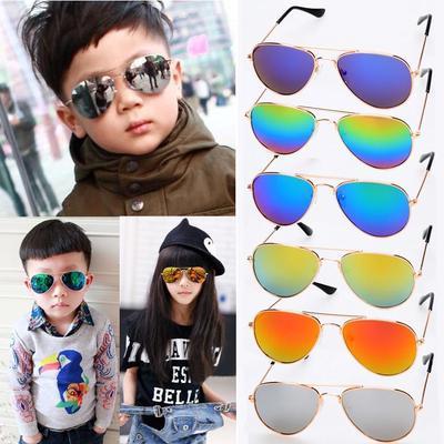 Baby Sunglasses Goggles Toddler Kids Boys Girls Shades Glasses ANTI-UV Eyewear
