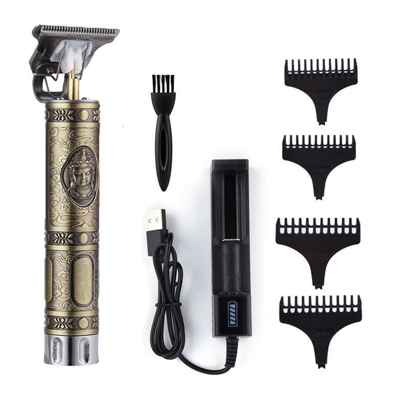 T9 Baldheaded Hair Clipper Electric Hair Trimmer Cordless Shaver Trimmer 0mm Men Barber Hair Cutting Machine Buy At A Low Prices On Joom E Commerce Platform