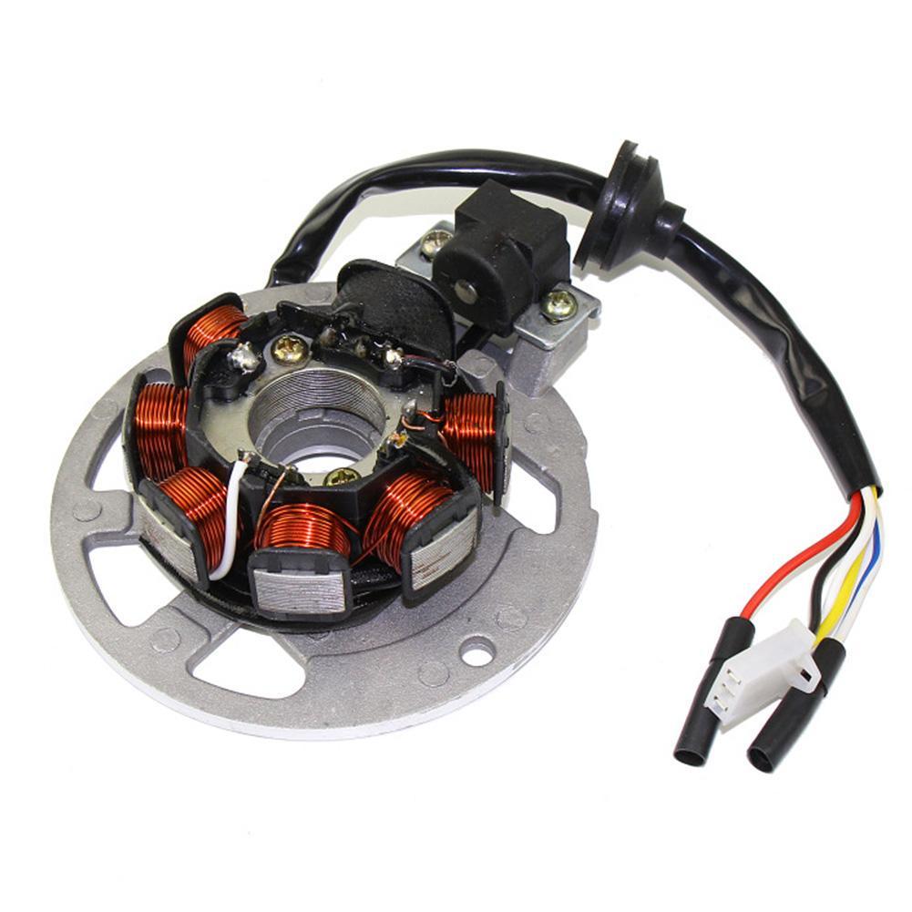 RENCALO Spark Plug Ignition Coil Kits Fit For Apache RLX 50cc 100cc 2 Stroke Quad Bike