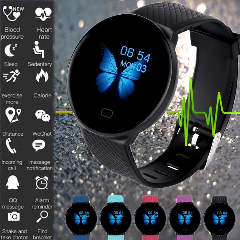 Smart Watch D19 Bluetooth Fitness Tracker Heart Rate Blood Pressure Waterproof Sports Bracelet-buy at a low prices on Joom e-commerce platform