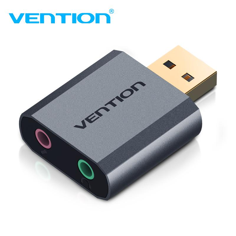 Vention Sound Card Usb Audio Card 7 1 External Sound Card For Earphone Speaker Laptop Buy At A Low Prices On Joom E Commerce Platform