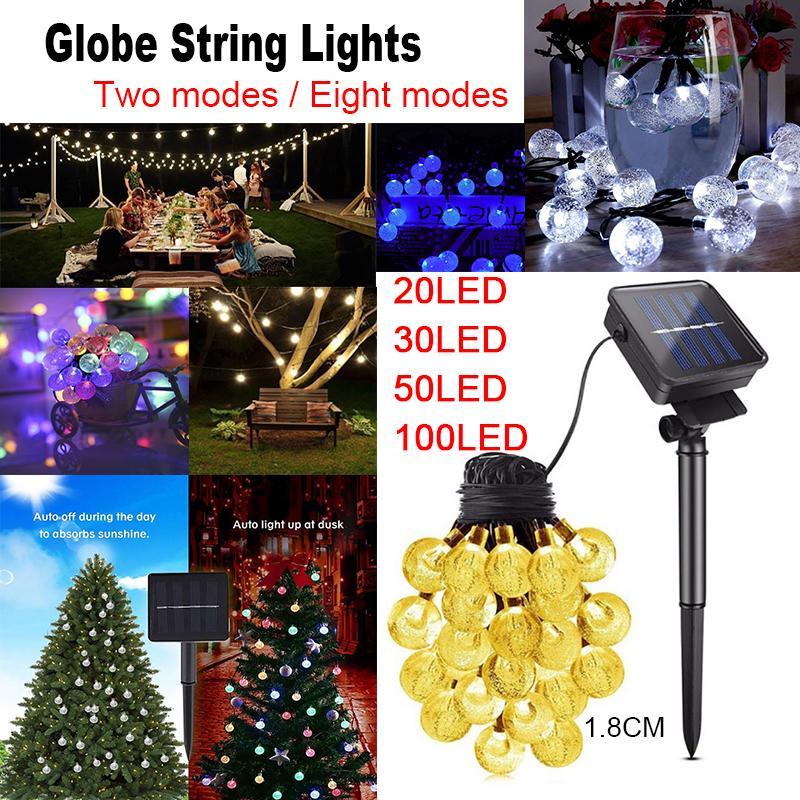 22M 100 LED Christmas Tree Fairy String Party Lights Lamp Xmas Decor Waterproof