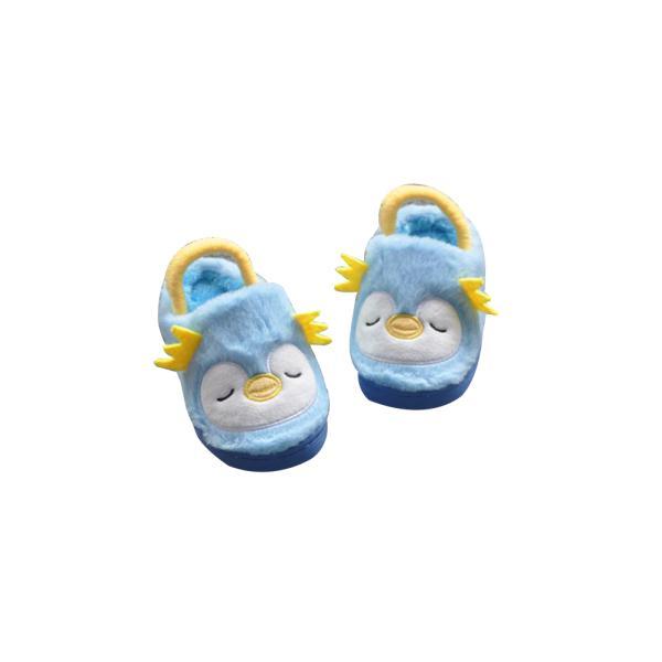 Christmas Boots Baby Boys Girls Cartoon Animal Slippers Anti-Slip Autumn Fur Infant Toddler Shoes