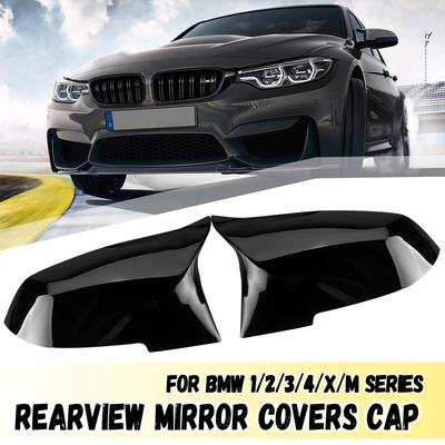 Pair For Bmw F20 F22 F30 F34 2 Pin Side Heated Wing Door Mirror White Glass