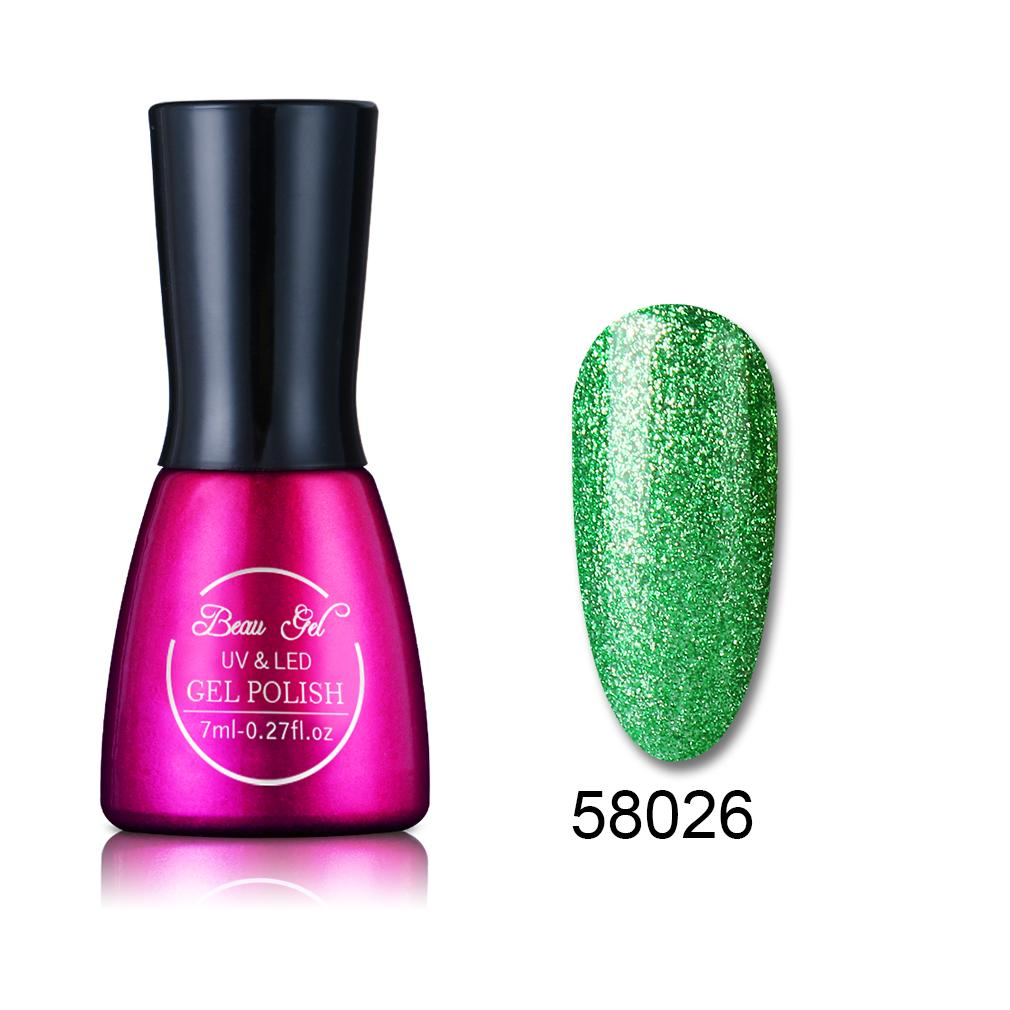 Beau Gel 7ml Super Bling Gel UV esmalte de uñas Semi permanente ...