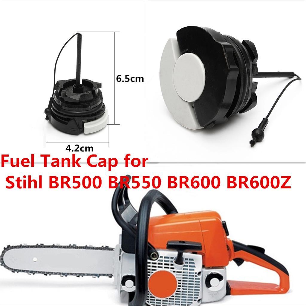2 Plastic Fuel Tank Cap For Stihl BR500 BR550 BR600 Back Pack Blower 00003500533