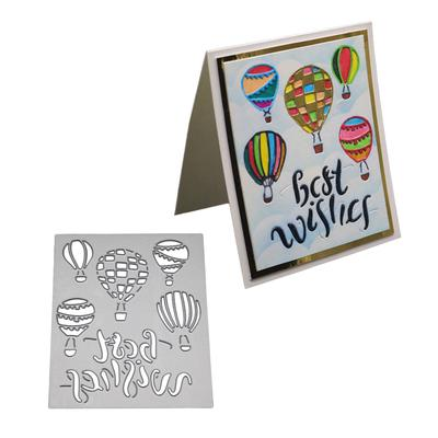 Balloon Metal Cutting Dies Stencil Scrapbook Paper Cards Craft Embossing Best PD