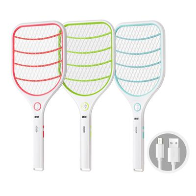 Mini Fly Swatter Mosquito Fly Killer Electric Bug Zapper Tennis Bat Insect Fly Bug Wasp Swatter Trap