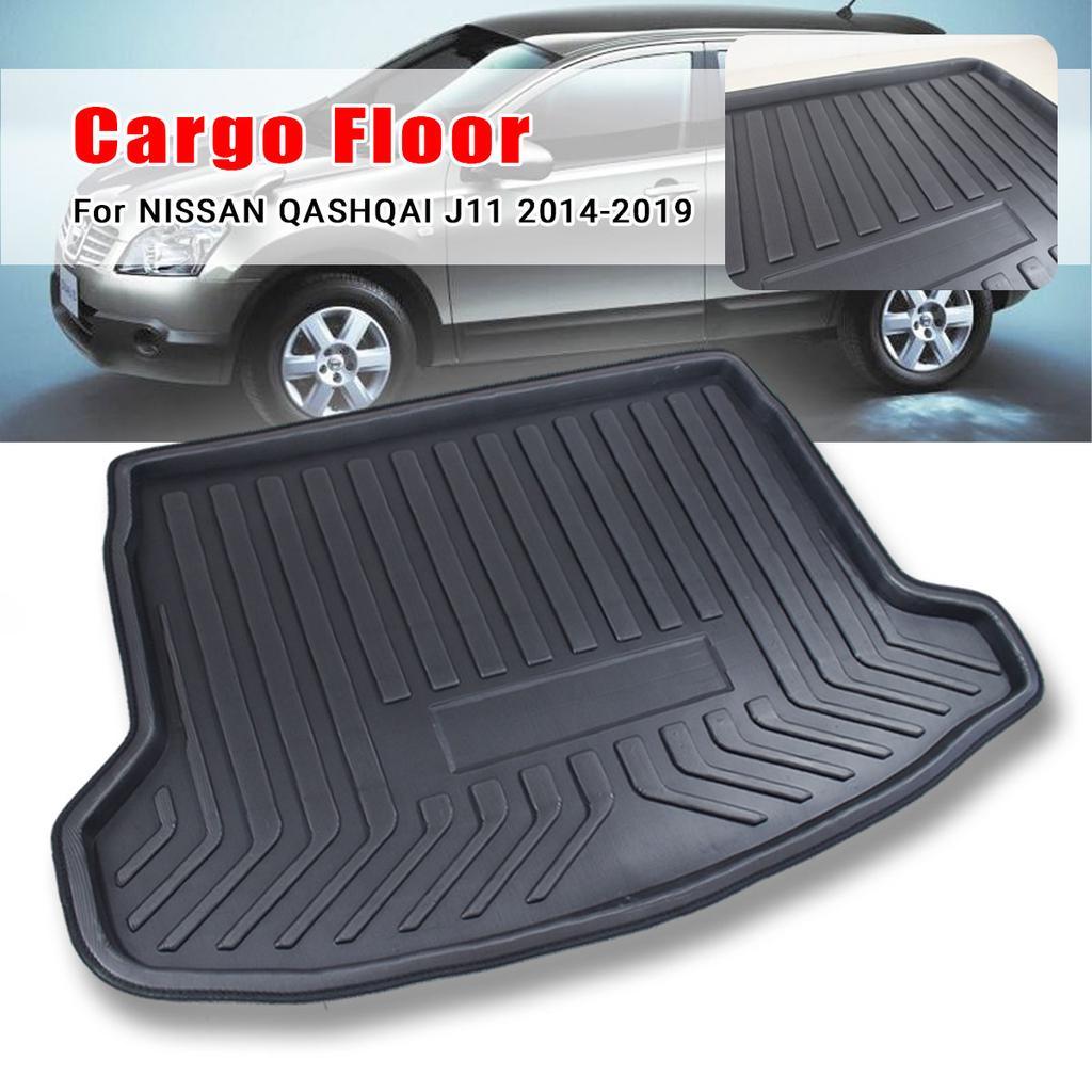 New Car Boot Mat Carpet Cargo Mat Cargo Liner Cargo Cover Rear Trunk Liner Tray Floor Mat For Nissan Qashqai 2008 2009 2010 2011 2012 2013 2014 2015 2016 2017 2018 2019