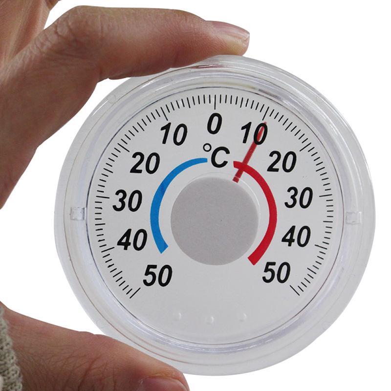 Мода Полезный открытый термометр Дверь Окно Температура Gauge – купить по низким ценам в интернет-магазине Joom
