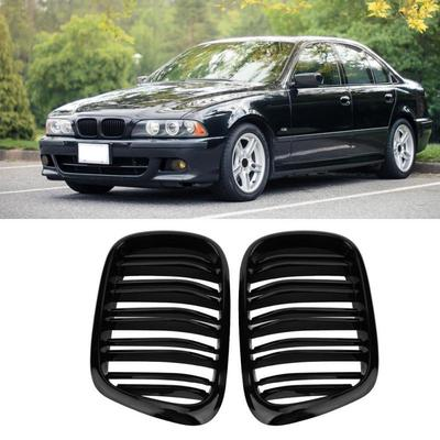 Elenxs 1 Pair Gloss Black M Color Front Kidney Grill For X5 X5M X6 X6M E70 E71 08-13