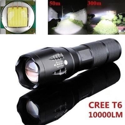 LED Flashlight G700 SkyWolfeye X800 Zoom Super Bright Military Grade UK