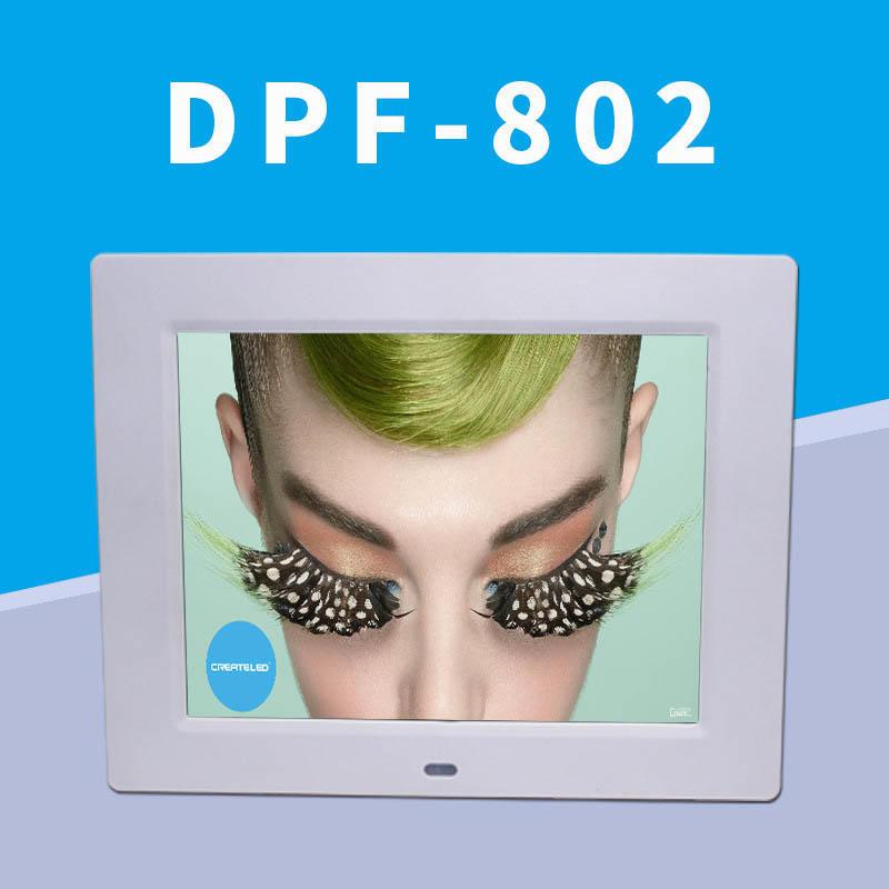 8 pulgadas TFT LED luz de fondo foto marco HD LCD presentación MP3/4 ...