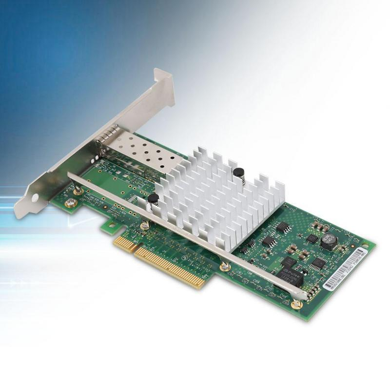 Adaptador de Red convergente Ethernet para Intel X520-SR1. 10G 82599EN SFP Tarjeta de Red