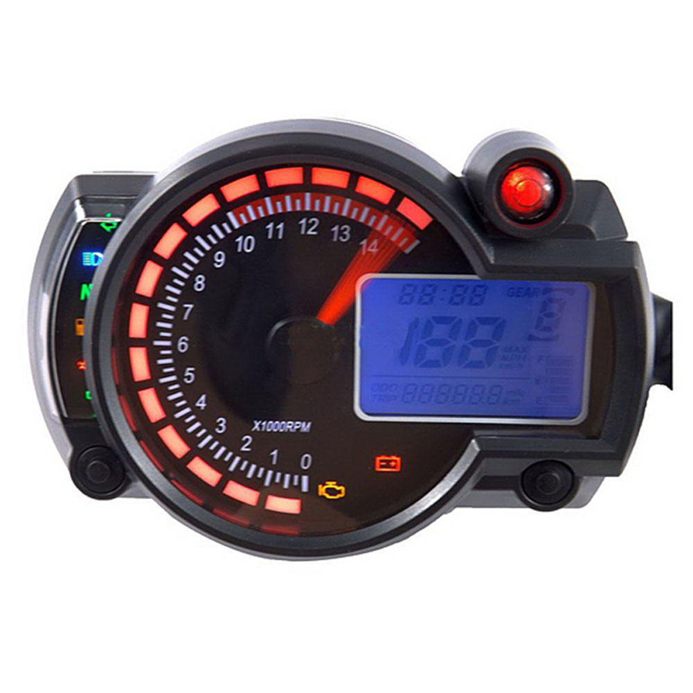 52mm Universal Digital GPS TACHOMETER CONTACHILOMETRI AUTO BARCA MOTO ATV 12v