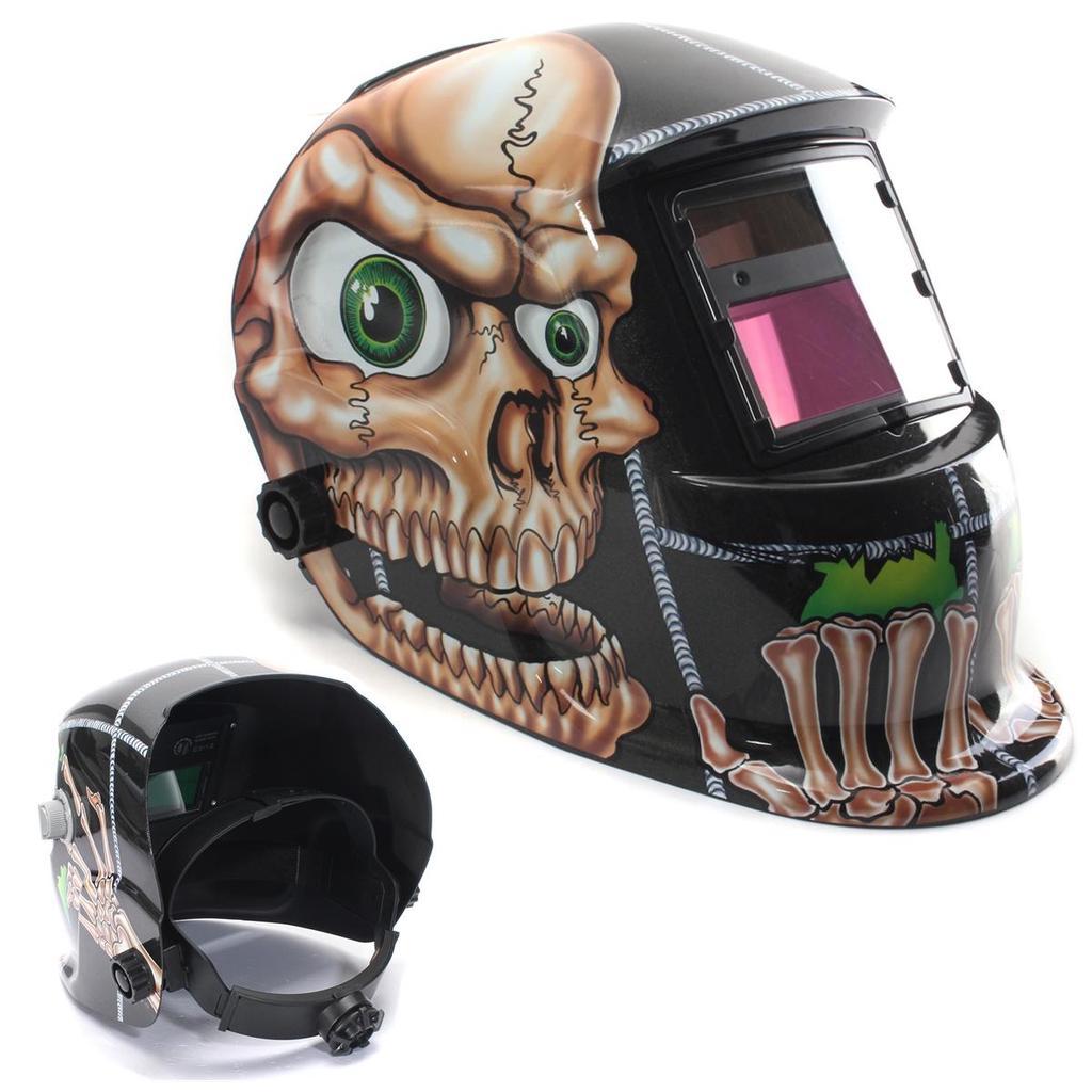 Auto Darkening Solar Pro Welding Soldering Helmet Grinding TIG Welder Lens Masks