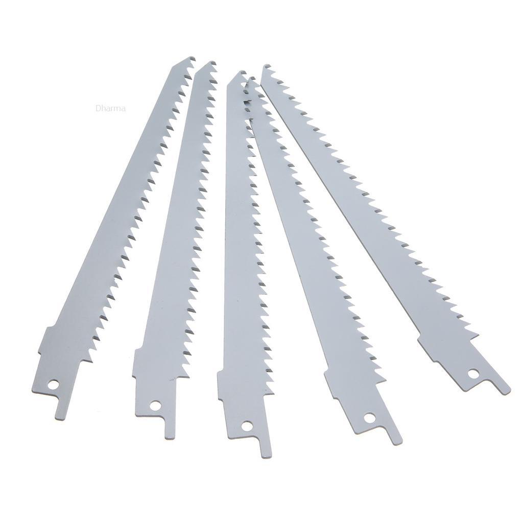 """150mm 6 /"""" 6 Tpi Hcs Sharp Scie-Sabre Lames pour Bosch Makita Accessoire Pièces"""