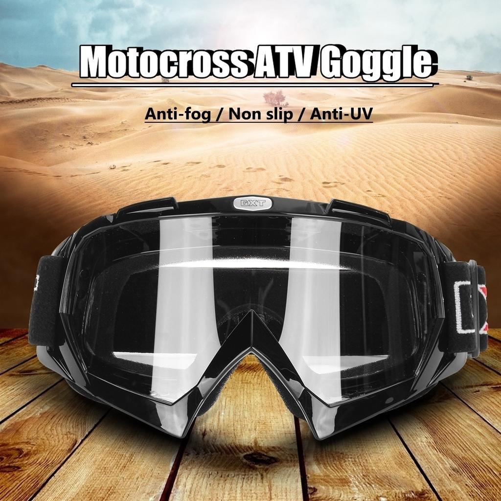 Anti Wind Retro Goggles Motorcycle Motocross Glasses ATV Eyewear Men Women Quad