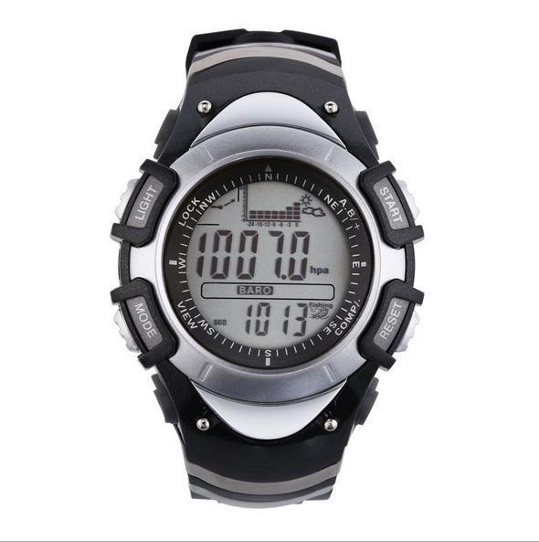 131def65c6a SUNROAD esportes relógio LCD altímetro termômetro barômetro bússola ...