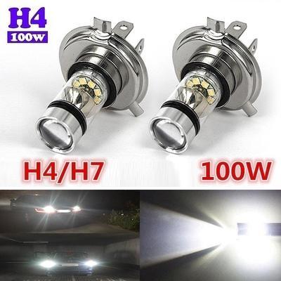 1 pair H4 LED Bulb Bi-Xenon Hi//Lo 110W 22000LM Headlight Conversion Kit Lamp