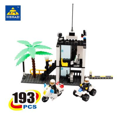 214pcs Arctic Scout Trucks Building Blocks with Figures City Rescue Toys Bricks