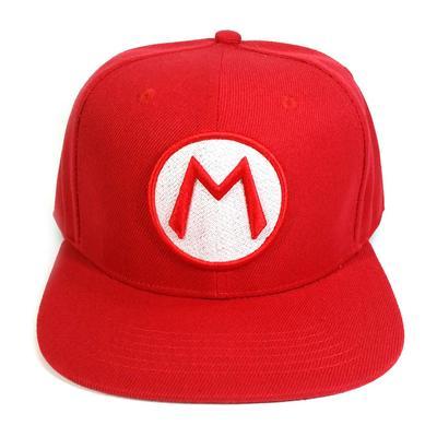 Super Mario Bros Luigi Baseball Cap Dad Hat Adjustable Snapback Cotton Hip Hop