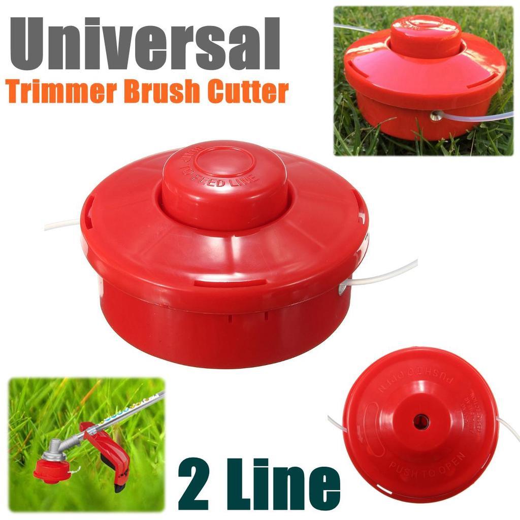 Universal Lawn Mower Brush Cutter Head 2 Wires Mower Bump Cutting Trimmer