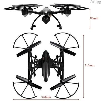 Foldable Rc Quadcopter Hold Hd Camera Wifi Control Jd 18 Altitude