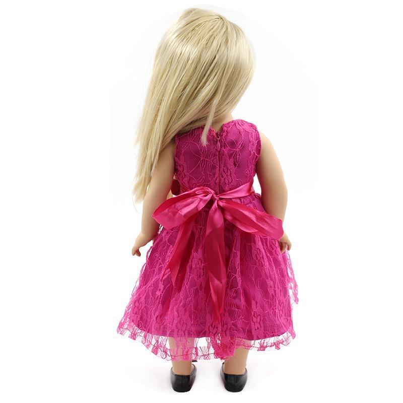 American Girl Puppe Kleidung Rose Prinzessin Kleid – zu den ...