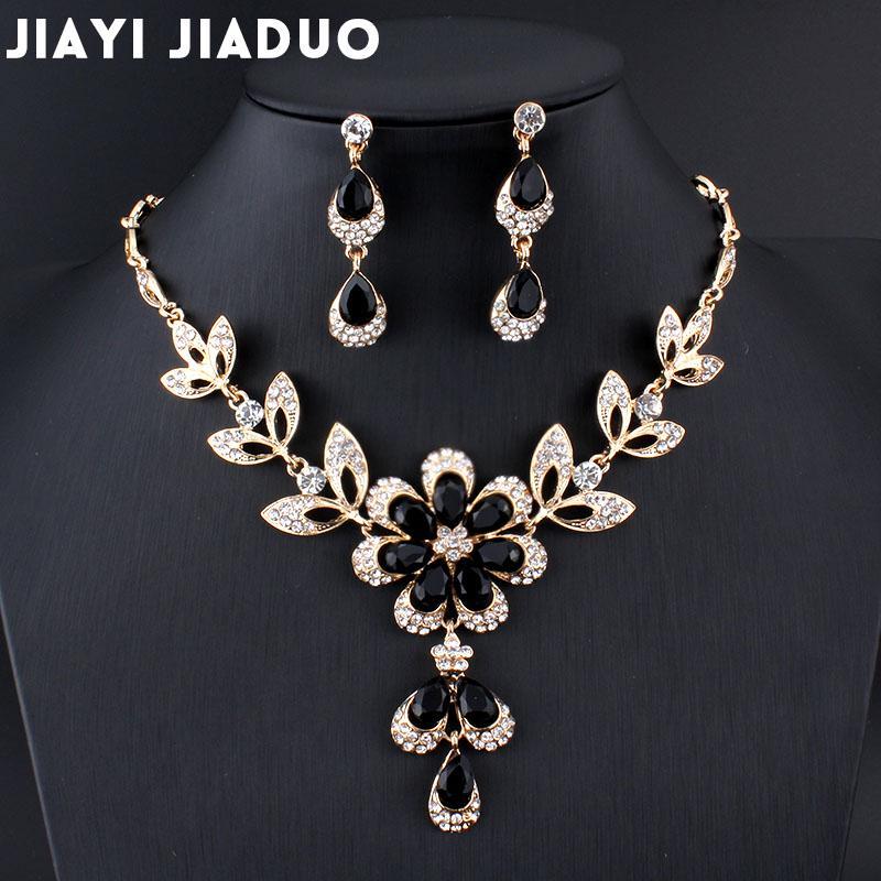 66ff0af4e26e mujer africana jiayijiaduo para joyería mujeres traje oro color ...