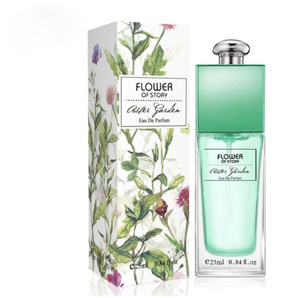 Hediye kutusu Bahçe serisi ile çiçek notları gül leylak sıvı 25 ml kadın erkek parfüm