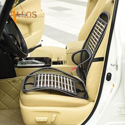 Summer Cooling Lumbar Universal Massage Cushion Breathable Cushion Car Wire