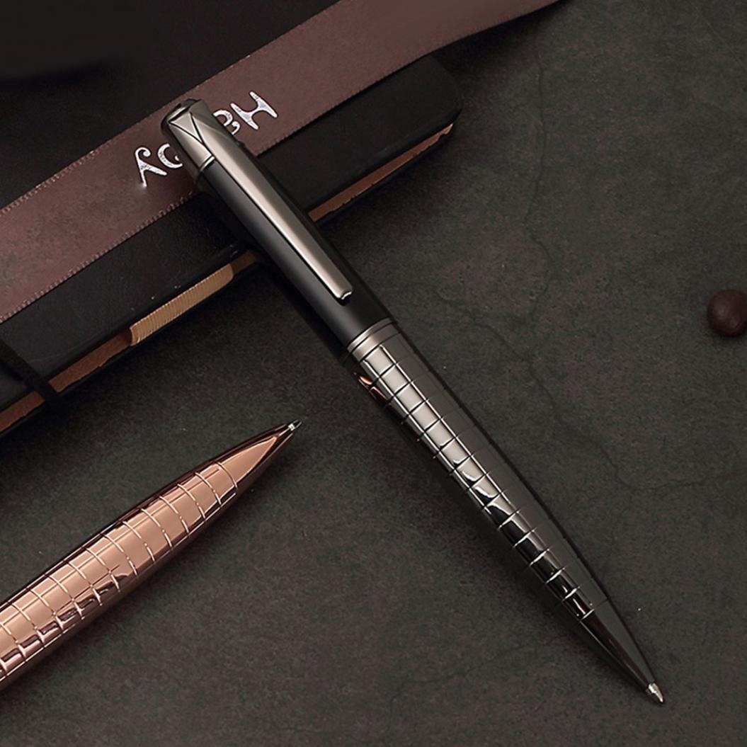 Металлическая шариковая ручка-паркер фото