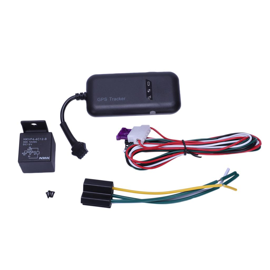 Vehicle Motorcycle GPS tracker GT02D car start detection ACC CUT Oil Free APP