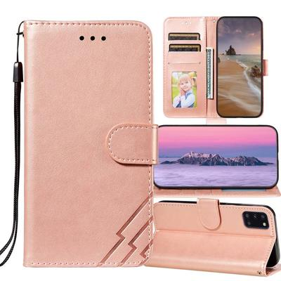 Geometric Flip Leather Wallet Case for iPhone 12 11 Pro 7 8 Honor 10i 8A 9X Lite 10 Redmi 9 9A 9C Note 9 8 7 8t Samsung A 31 51 41 01 M 21s 50 S20 S10