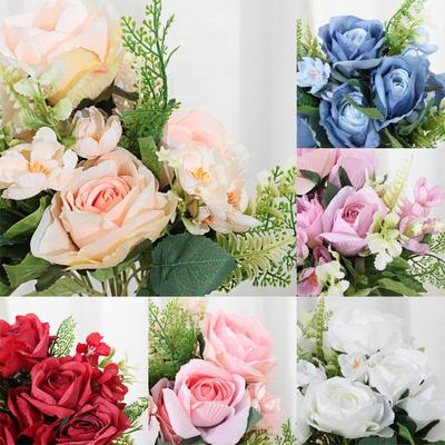 Artificial Rose Flower Bouquet With 10 Heads For Home Decor Wedding Props Buy At A Low Prices On Joom E Commerce Platform