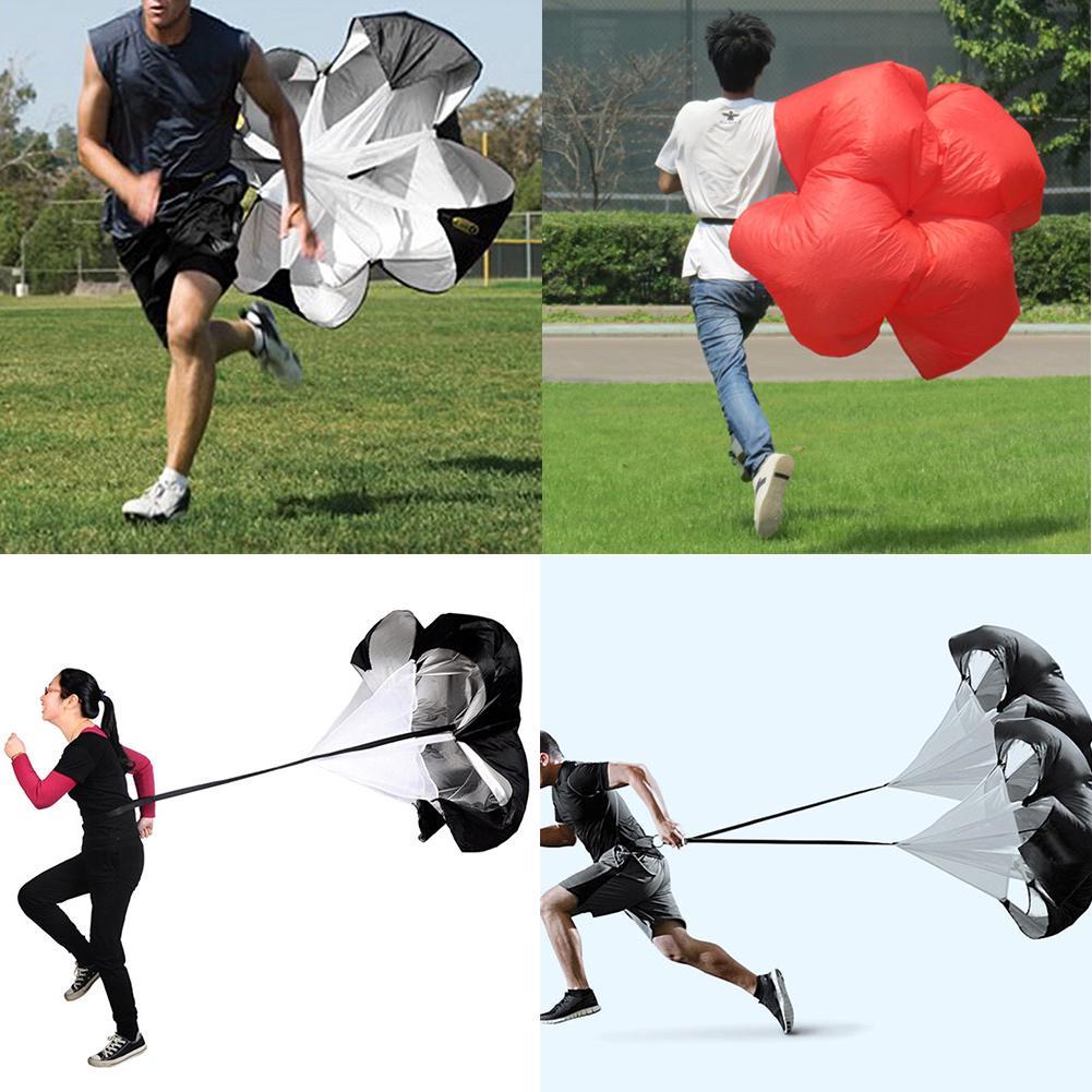 Speed Training Drills Resistance Parachute Running Drag Sprint Chute Sport new