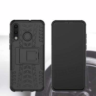 Tire Pattern Armor PC Rubber Case For Huawei P40 Lite E P20 P30 Lite Mate 20 Honor 8A 8S 9A 9C 20 Lite 20S 10 8 9 7X 8X Nova 3i 2i Y6S Y5 Y7 Y9 Cover