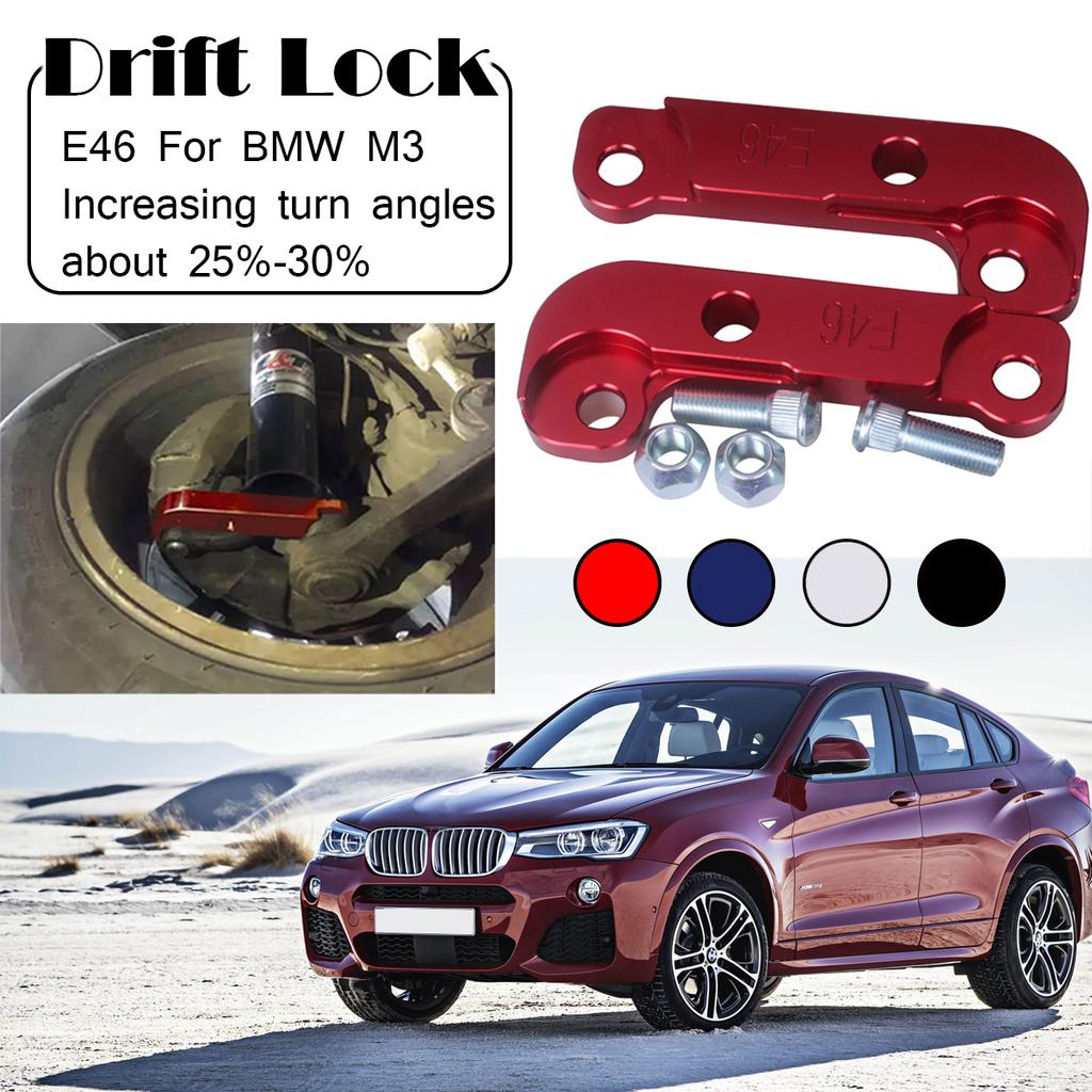 Aluminium Steering Lock Adapter Increasing Turn Angle for BMW E46 Drift Lock Kit