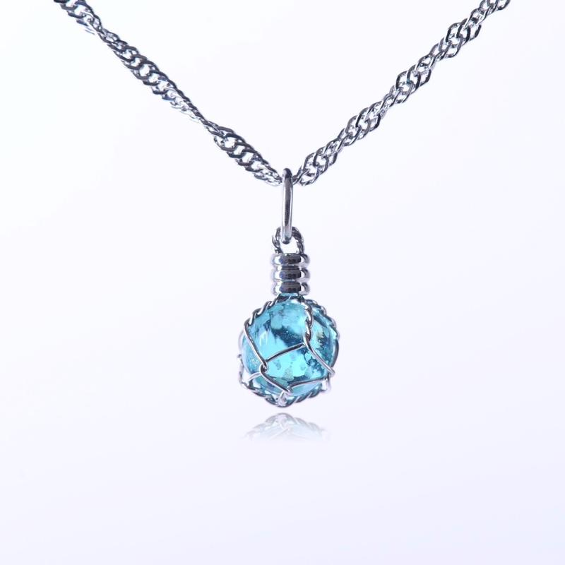Large Seed Of Life Necklace Resin Color Change Glow In The Dark Necklace
