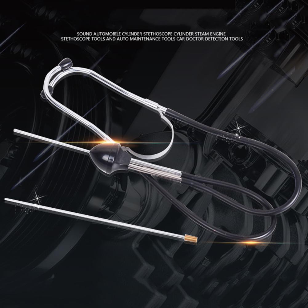 Auto Cylinder Stethoscope Engine Noise Sound Mechanical Fault Diagnostic Tool