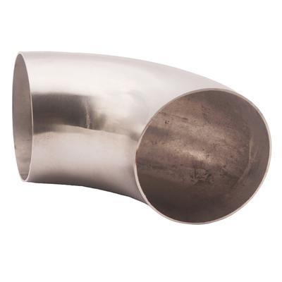 """Ultra Tight Radius 3.5"""" Mandrel Bend 90 Degree 304 Stainless Steel 0.84D Exhaust"""