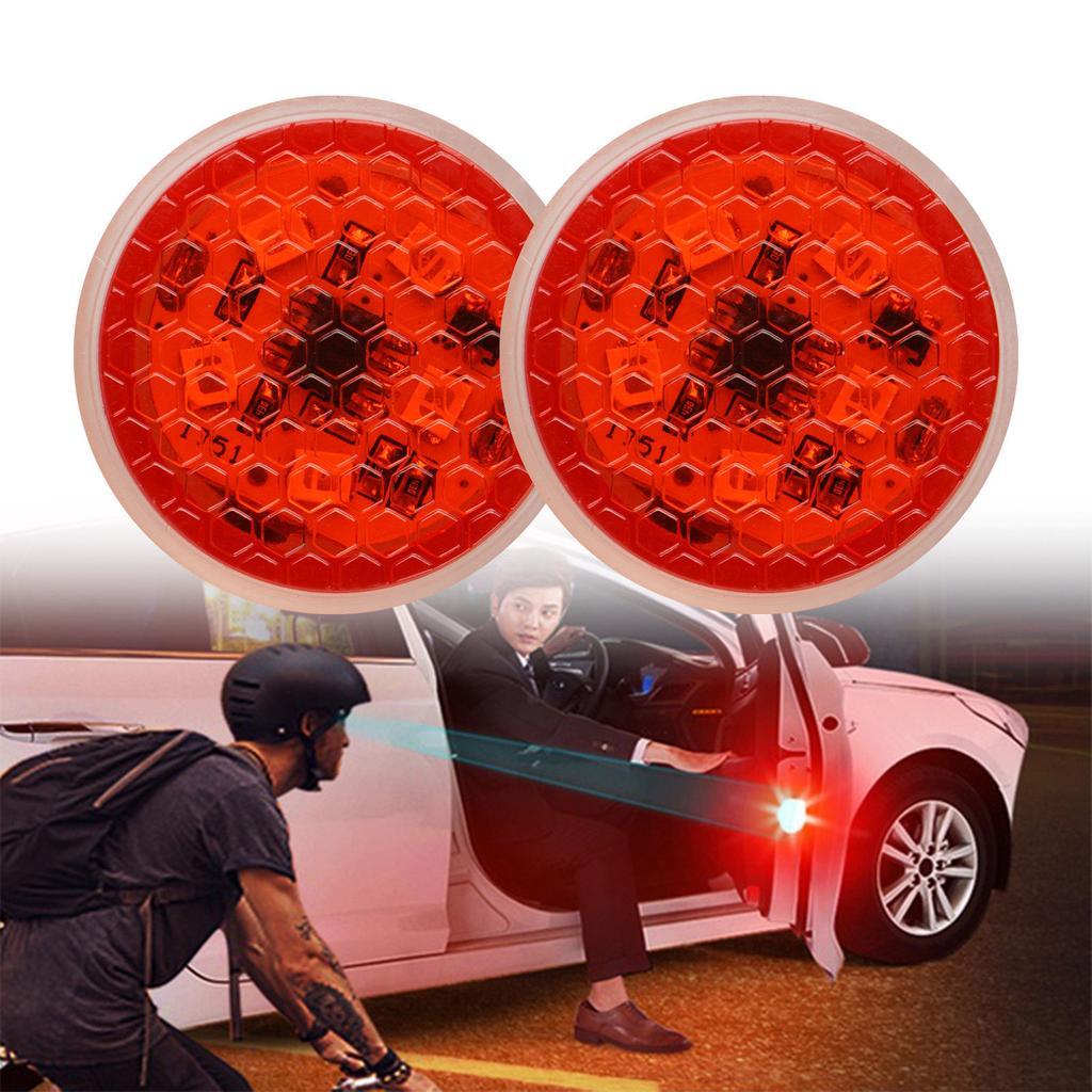 Universal Car Door 5 LED Opened Safety Warning Flash Light Wireless Anti-collid