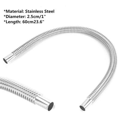 Stainless Steel Car Exhaust Pipe Hose Tube For Parking Air Diesel Heater   !