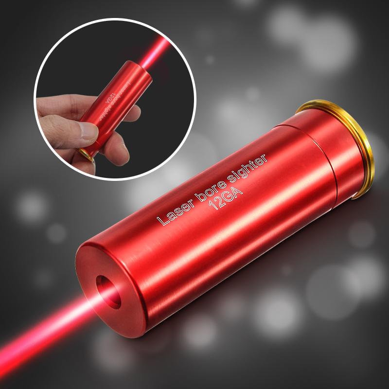 Red Dot Laser Bohrung Anblick 12 Gauge Barrel Patrone Schussprüfer ...